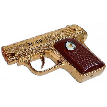 """Зажигалка """"Золотой пистолет М-69"""""""