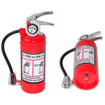 Зажигалка - огнетушитель с фонариком