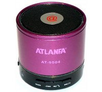Бездротова портативна Bluetooth колонка ATLANFA АТ 9504