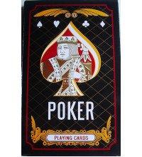 Карты для игры в покер - большие