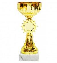 Кубок нагородний в формі золотої чаші 18cм