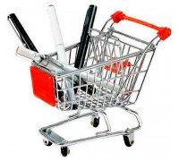 Настільна візок із супермаркету для канцтоварів