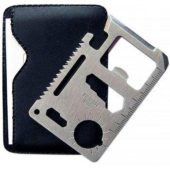Нож визитка мультитул 11 в 1