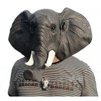 Маска слона латексная