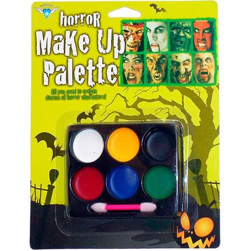 Набір фарб для гриму 6 кольорів