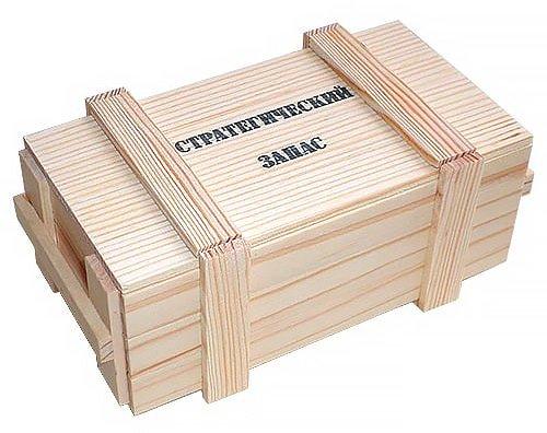 """Подарочный набор для мужчин """"Стратегический запас"""""""